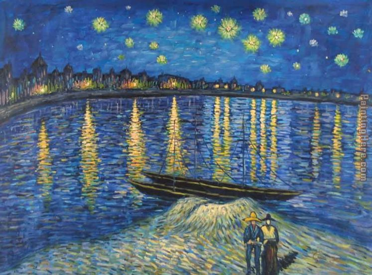 Starry Night Over the Rhone 2