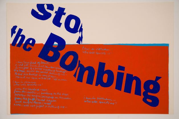 Corita-Kent-stop-the-bombing-1967-courtesy-of-the-Corita-Art-Center-Immaculate-Heart-Community-Los-Angeles-CA-